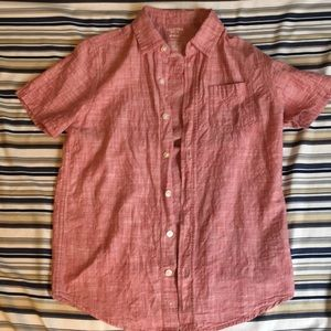 LIGHT RED SHORT SLEEVE FLANNEL